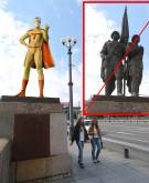 Vietoje žaliojo tilto skulptūrų – Žmogus Vielabraukis