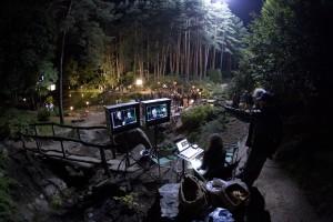 Tokijo teismas - filmavimo aikštelė - VU botanikos sodas