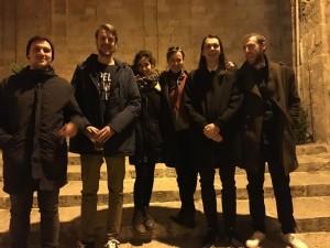 Britta Krause su savo grupe Maltoje